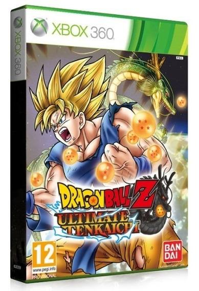 Dragon Ball Z Xbox 360 Ultimate Tenkaichi Origi-mídia Física