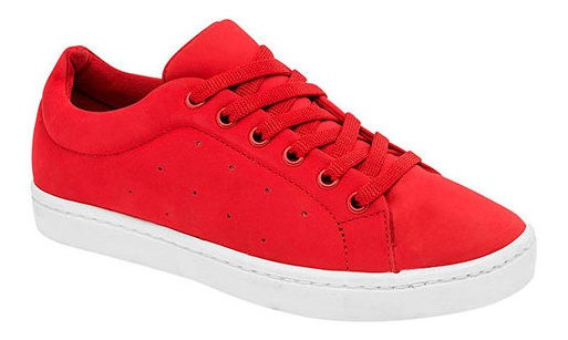 Tenis Casual Caballero Been Class Rojo Sintético J76219 Udt