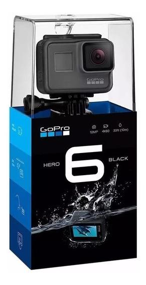 Gopro - Camera Gopro Hero 6 Black Edition Completa Nova