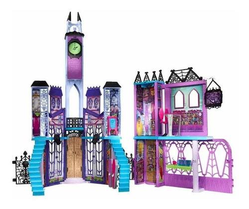Monster High Escuela De Lujo Casa Mansion Muñecas Mattel