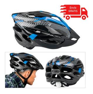 Casco Bicicleta Ajustable 55 A 65cm