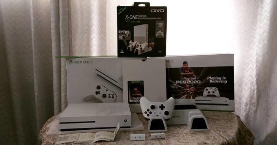 R$1.650,00 Xbox One S 1tb Com Menos De Um Mês