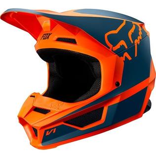 Casco Fox V1 Przm Naranja 2019 Motocross Moto Rzr Enduro Atv
