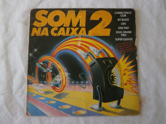 Lp Som Na Caixa Vol.2 Disco De Vinil Dance Music, Ano 1989