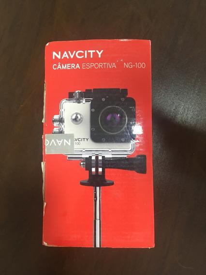 Câmera Ação Esportiva Navcity Ng-100 Full Hd - Tipo Gopro