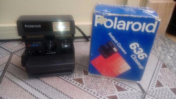 Maquina Fotográfica Antiga Polaroid