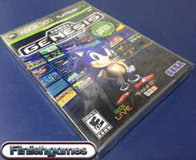 Sonic Ultimate Genesis Colletion Xbox 360 Mídia Física Novo