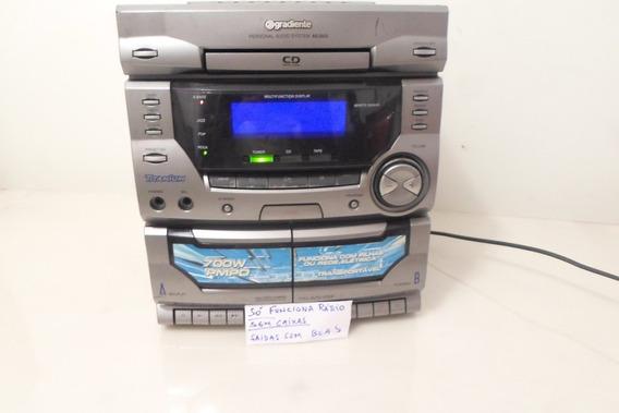 Mini Sistem Gradiente (sò Funciona Radio Am/fm) Sem Cxs.