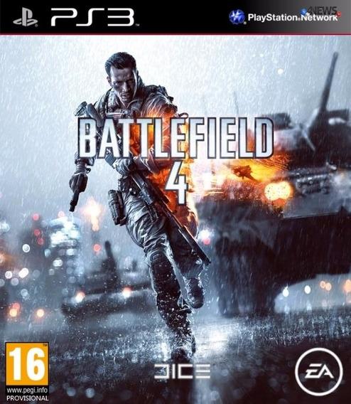 Bf4 Battlefield 4 Ps3 Portugues Midia Digital Original