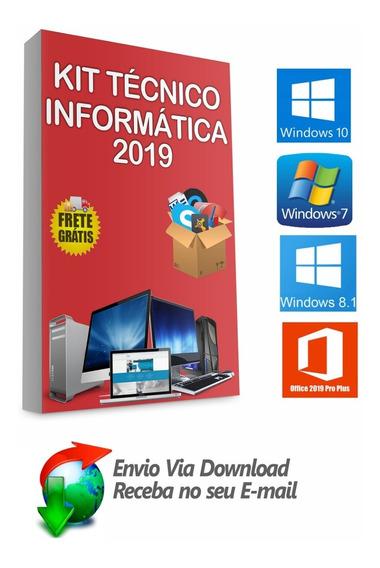 Kit Técnico 30 Dvd,s Formatação E Pós Formatação + Brindes