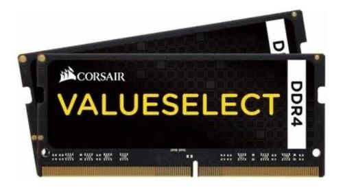 Imagem 1 de 1 de Memória Corsair Value Select Notebook Ddr4 16gb (1x16gb)