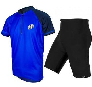 Kit Asw Lazer Bermuda + Camisa 19 Ciclismo Bike Trilha Mtb
