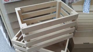 Cajon De Fibrofacil Madf 40x30x20 Para Pintar Fabrica