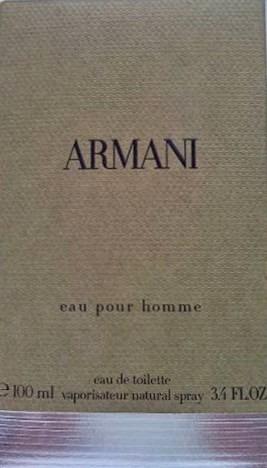Perfume Giorgio Armani Eau Pour Homme Masculino 100ml