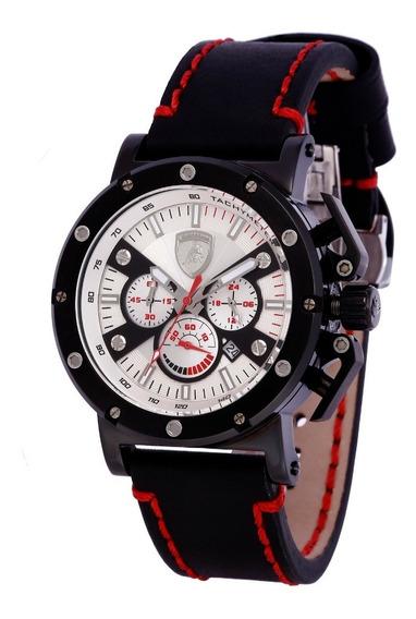 Relógio Masculino Lamborghini Ferruccio Lb90037652m Original