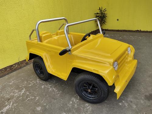 Mini Jeep Eletrico 12 Volts Semi Novo