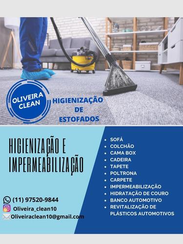 Limpeza, Higienização E Impermeabilização De Estofados