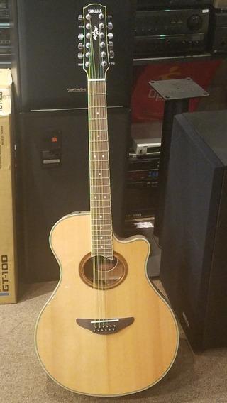 Guitarra Electroacustica Yamaha Apx-700 Il 12 Cuerdas Envio