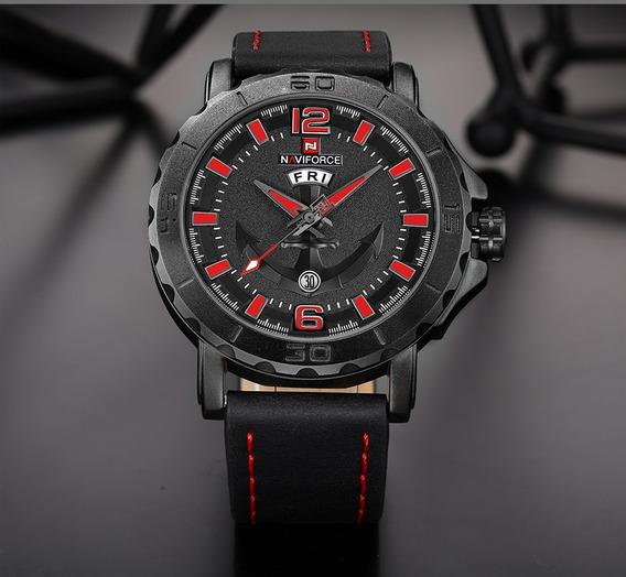 Relógio Masculino Esportivo Militar Naviforce Superresistent