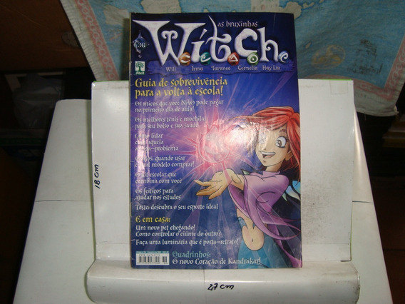 Revista - As Bruxinhas Witch Nº 36