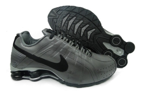 really comfortable the best first rate Tenis Nike Shox Junior Cinza E Preto Nº37 Ao 44 Original!