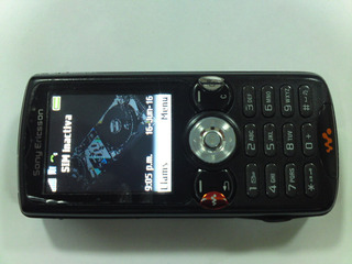 Sony Ericsson W 810 Simplemente Perfecto Gsm Telcel Negro