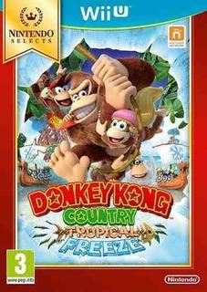 Juego Nintendo Wiiu Donkey Kong Country Tropical