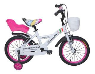 Bicicleta Infantil Rodado 16 Lamborghini Premium
