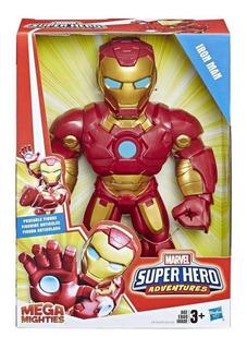 Iron Man Marvel Super Hero Adentures Playskool 10 Pulgadas