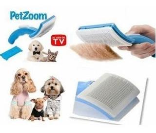 Petzoom Cepillo Peine Para Mascotas Gato Perro Caballo