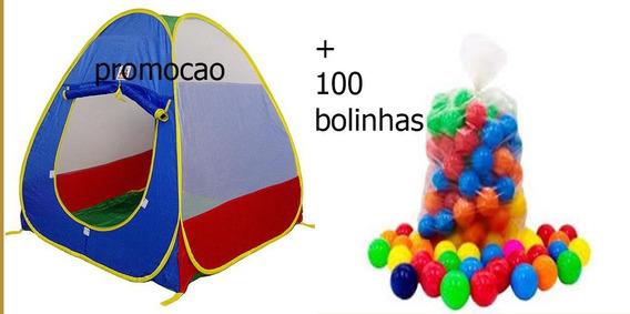 Barraca Toca Infantil Pronta Entrega+100 Bolinhas