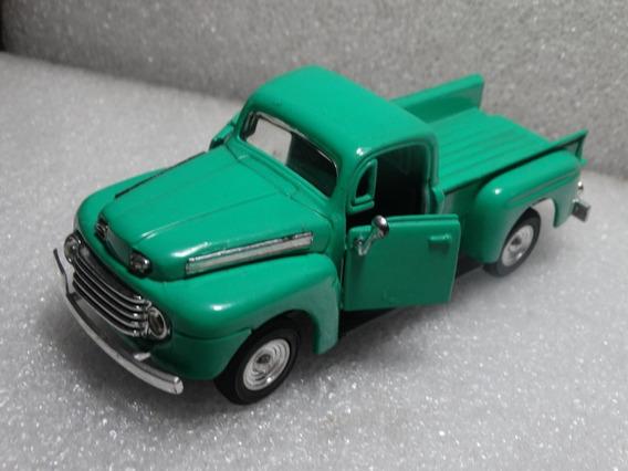 48 Ford F1 Pickup Verde Sem Marca 1:32 Esc Aproximada Loose