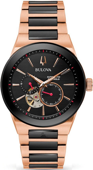 Relógio Bulova Automático Ediçâo Limitada Original 98a236