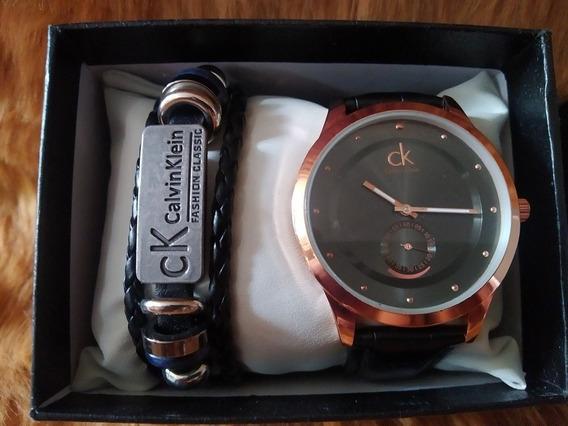 Reloj Y Pulsera Calvin Klein