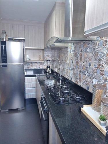 Imagem 1 de 30 de Apartamento À Venda, 50 M² Por R$ 320.000,00 - Utinga - Santo André/sp - Ap12350