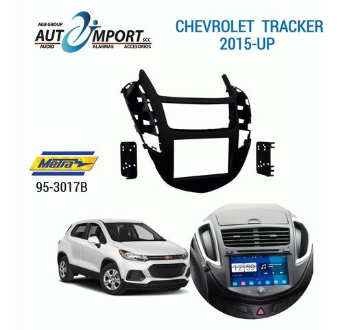 Adaptador De Radio Chevrolet Tracker 2015-2017 Metra