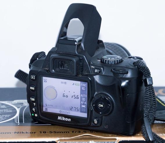 Nikon D40 Com Lente 50mm Nikkor