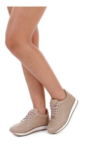 Tênis Feminino Vizzano Jogging Bege