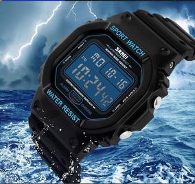 Relógio Skmei Digital Estilo G-shock Retrô Frete Gratis