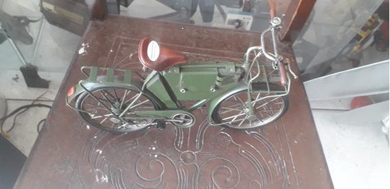 Miniatura De Bicicleta Antiga Retrô Raridade