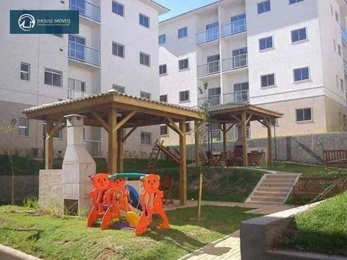 Apartamento À Venda No Morada Das Vinhas, 45 M² Por R$ 212.000 - Chácara Morada Mediterrânea - Jundiaí/sp - Ap24509