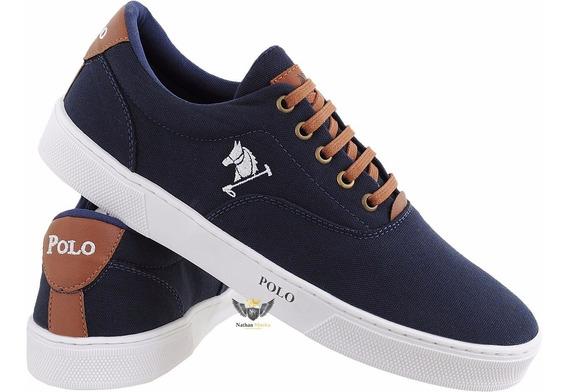 Tenis Sapatenis Polo Bra Masculino Sapato Casual Kit Com 4