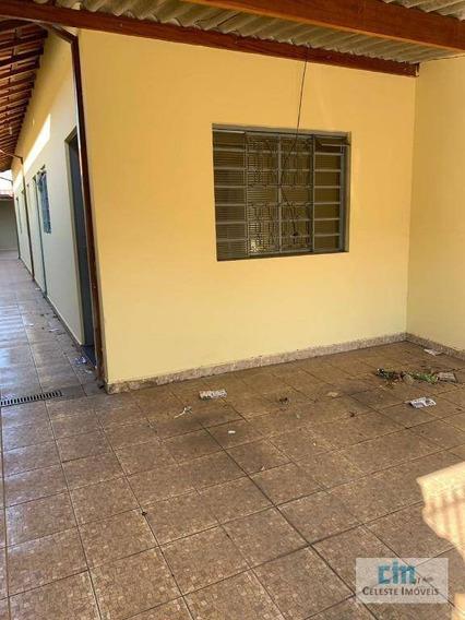 Casa Com 2 Dormitórios Para Alugar, 125 M² Por R$ 850/mês - De Lorenzi - Boituva/sp - Ca0491