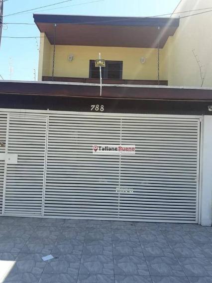 Casa Residencial À Venda, Conjunto Residencial Galo Branco, São José Dos Campos. - Ca1689
