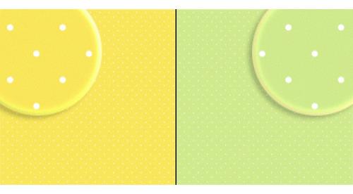 Repeteco - Duo Básico Bolas Verde/amarelo - Limão