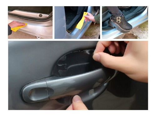 Itz Kit Protector Anti Rayones Universal Accesorios Autos