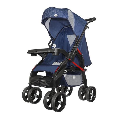 Carrinho Berço Anti-impacto Upper Da Tutti Baby - Azul