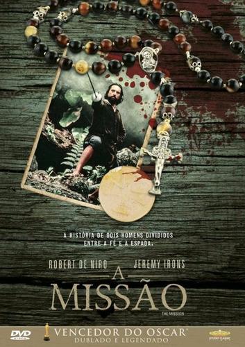 Imagem 1 de 1 de A Missão - Dvd - Robert De Niro - Jeremy Irons - Aidan Quinn