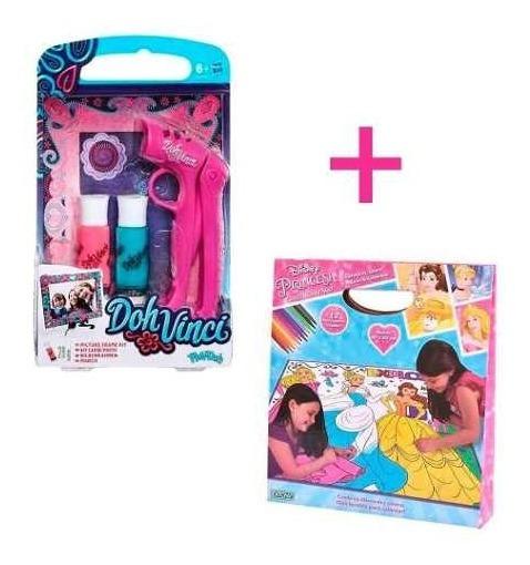 Combo Playdoh Doh Vinci + Mickey Club House Color Mat