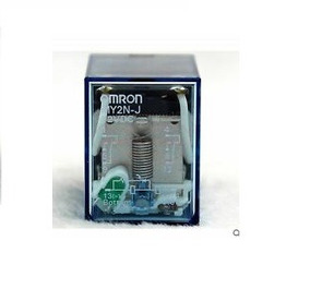 Kit Com 4 Relés Com Base Omron My2n-j 12 Vdc 5a Com Led